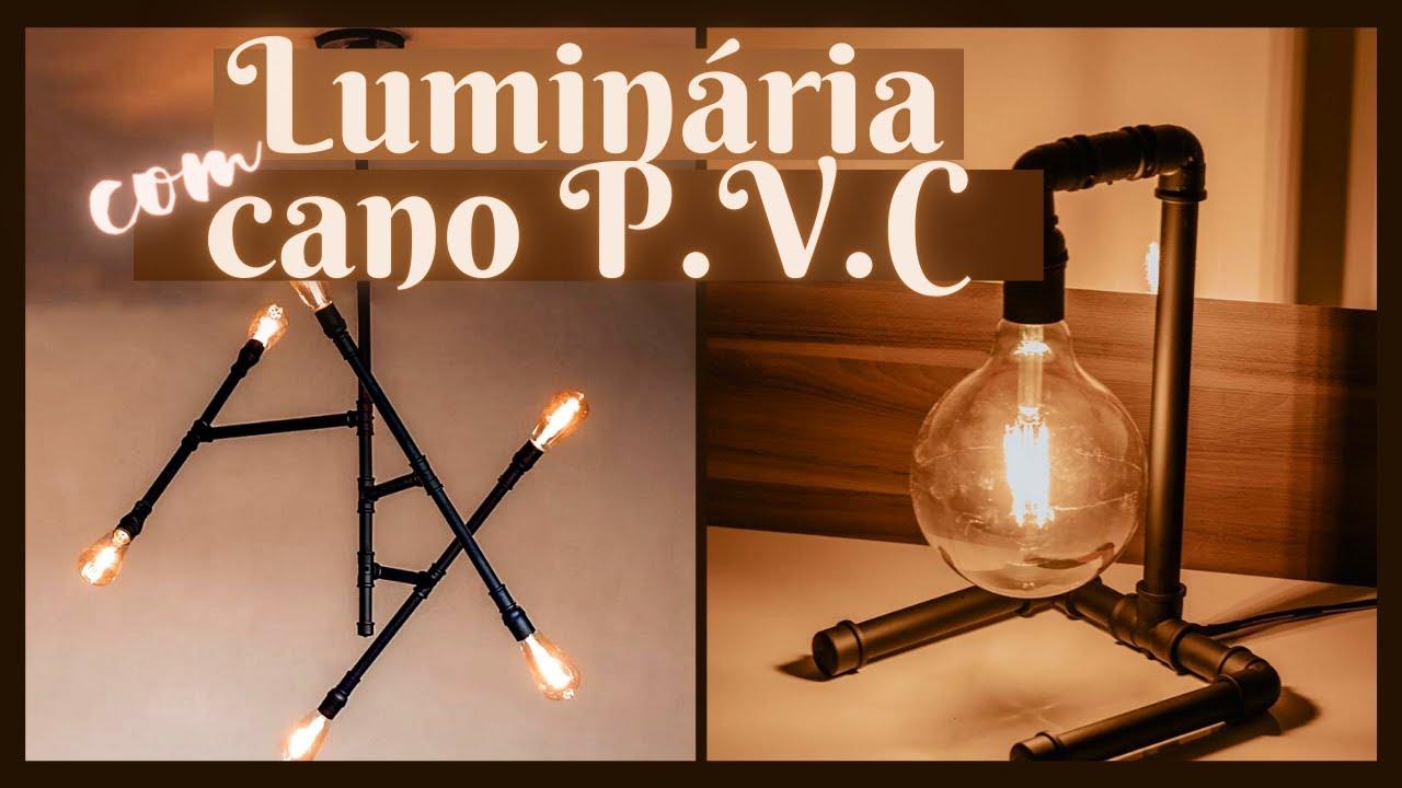 LUMINÁRIAS com CANO P.V.C - Eduardo Wizard