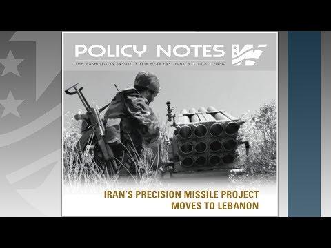 Iran's Precision Missile Project Moves to Lebanon