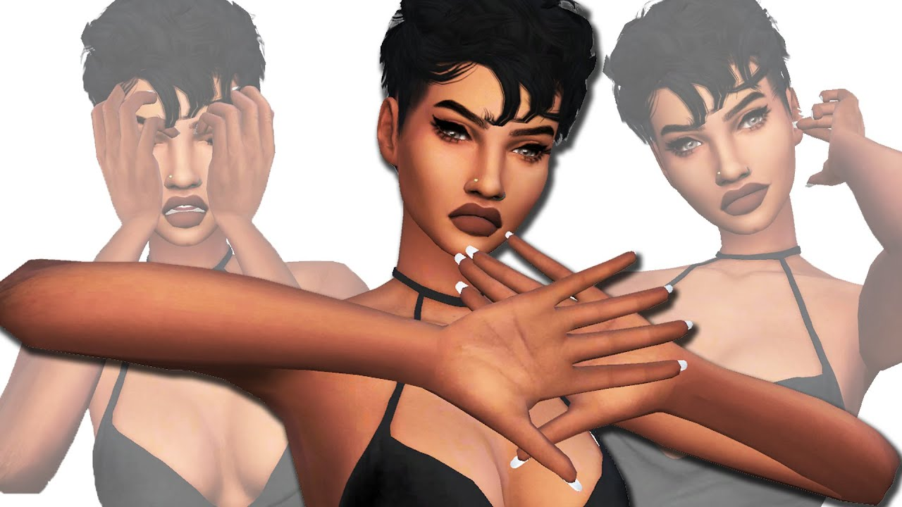 The Sims 4 Cc Finds 4 Kylie Jenner Nails Diy Nose