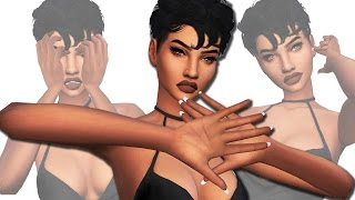 the sims 4   cc finds 4   kylie jenner nails diy nose rings hair more   50 items