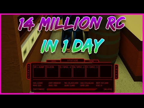 Ro Ghoul How To Get 14m Rc In 1 Day New Method Youtube