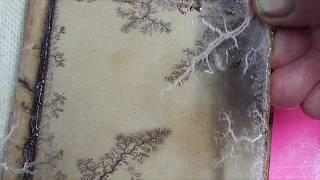 Fractal Burning Acrylic Sheet
