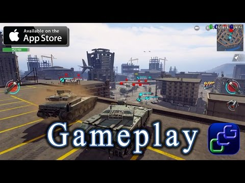 Infinite Tanks By Atypical Games iOS / Apple TV Gameplay - Missions 1-2