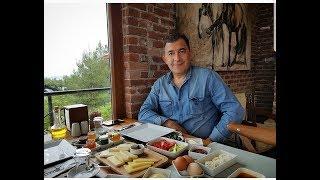 турецкий завтрак с ДОЧЕЙ и МУЖЕМ  * красивые панорамы и лошади / Измир Турция