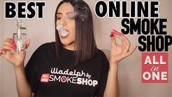 SMOKE SESH | BEST ONLINE SMOKE SHOP!! *SMOKE WITH ME|GET HIGH WITH ME*