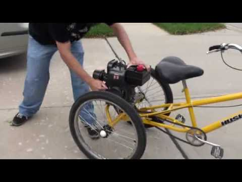 Motorized Husky Tricycle - High Speed Take 1