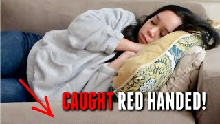 I was Caught Red Handed in my Sleep! - itsjudyslife
