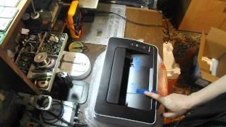 видео Отзыв о Canon i-SENSYS LBP6020B – компактный лазерный черно-белый принтер