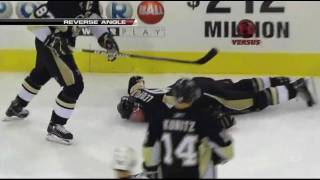 NHL Top 10 hits of 2009-2010 [HD]