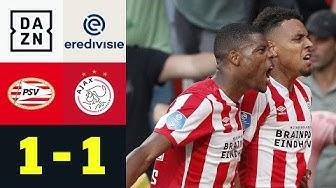 Malen trifft erneut! PSV und Ajax im Gleichschritt: PSV - Ajax 1:1| Eredivisie | DAZN Highlights