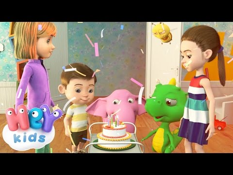 Happy Birthday song in French - HeyKids.fr