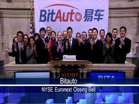 17 Nov 2010 Bitauto NYSE Euronext Closing Bell