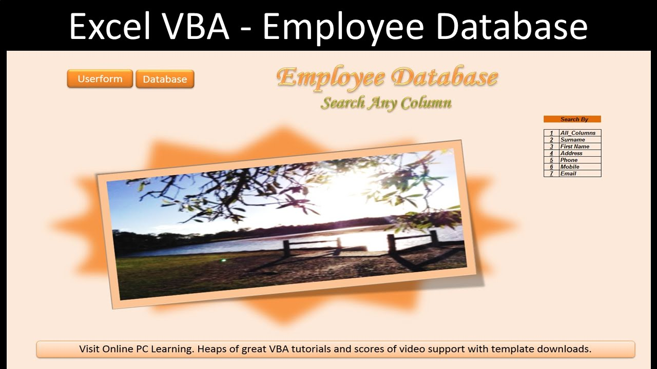 excel advanced filter employee database youtube