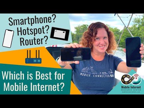 Smartphone? Hotspot? Router?