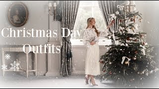 CHRISTMAS DAY OUTFITS // Fashion Mumblr