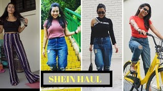 SHEIN HAUL (TOPS UNDER RS. 500) - 85% DISCOUNT MUST WATCH😳