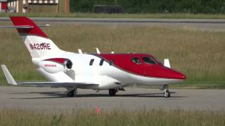[Full HD] Honda Jet taxi and takeoff in GVA / LSGG