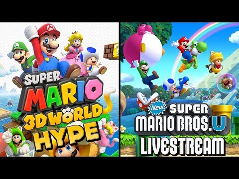 Super Mario 3D World HYPE - New Super Mario Bros. U Playthrough