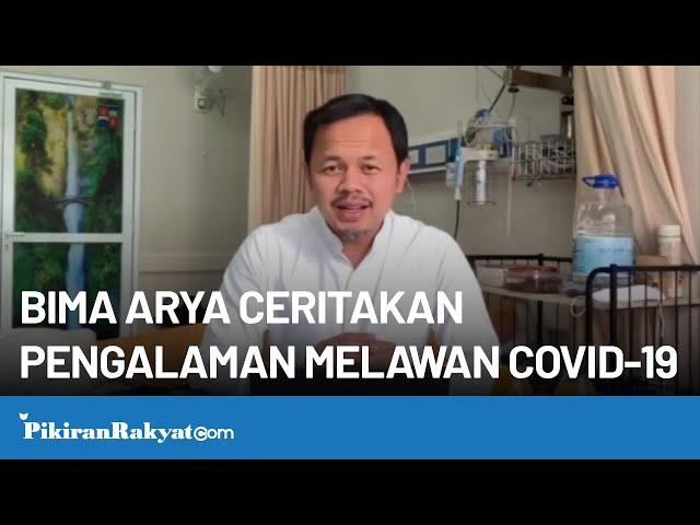 Semakin Membaik, Wali Kota Bogor Bima Arya Ceritakan Pengalamannya Melawan COVID-19