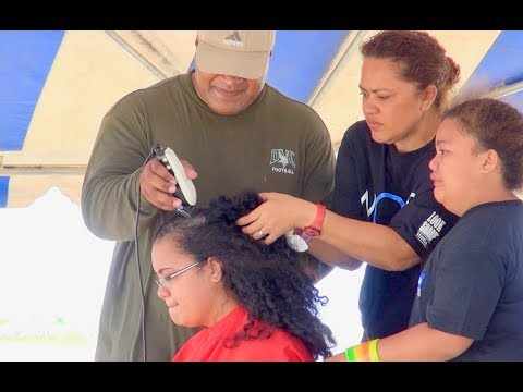 Tae Kami Foundation - WOWS Tonga 2013 March & Shave or Save