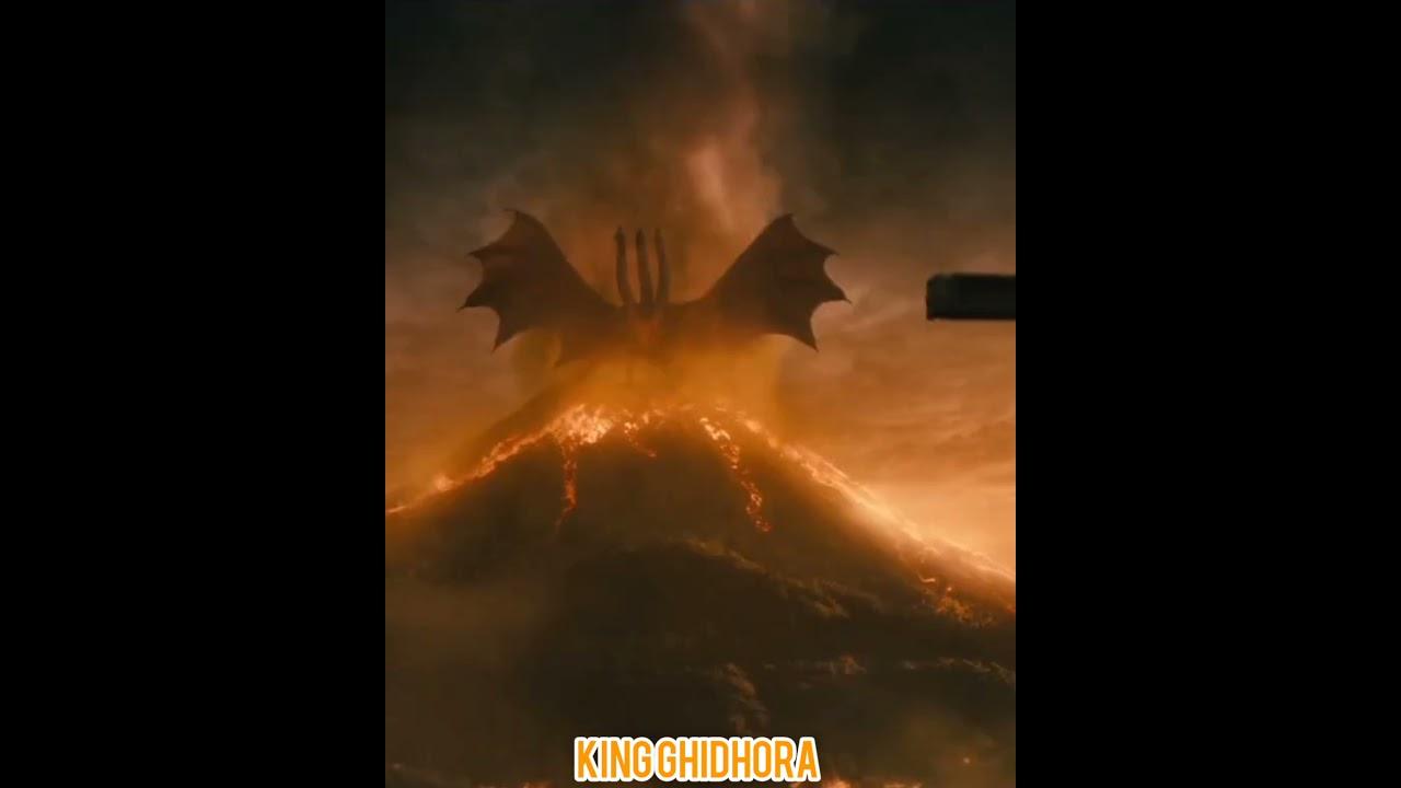 Download Evolution of Godzilla, Kong,  Ghidhora, Mechagodzilla then and now #shorts