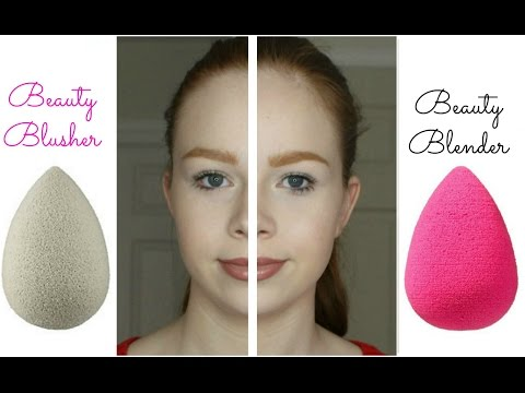 NEW Beauty Blusher vs. Beauty Blender