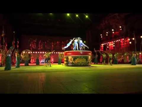 シンセンの中国民族文化村 ナイトファンタジー (Night fantasy in Shenzhen)
