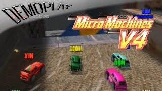 Demoplay: Micro Machines V4