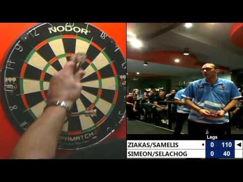 Thessaloniki Dart Masters Tour 2016 Pairs Final