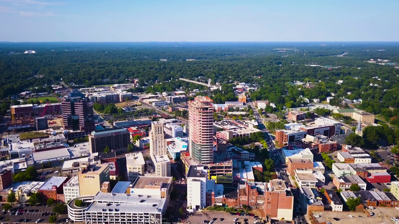 Downtown Durham NC Drone - YouTube