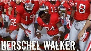 NCAA Football 13 - Herschel Walker Heisman Challenge: Week 4 vs Vanderbilt Commodores
