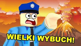 ROBLOX-THE GREAT ERUPTION OF THE VOLCANO! -Dealereq & MWK!