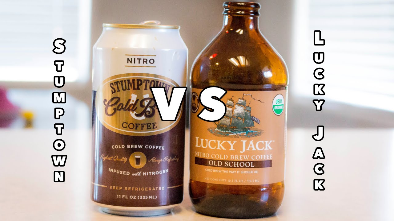 Cold Brew Cold War Challenge Stumptown Vs Lucky Jack Youtube