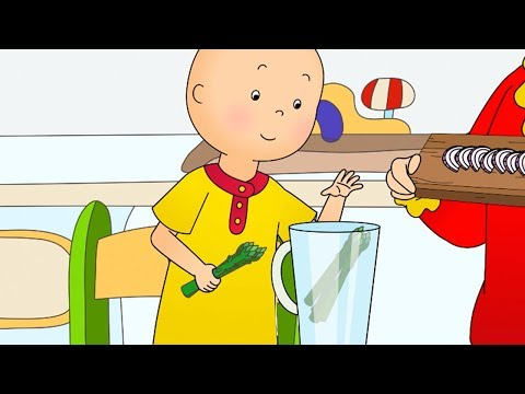 Caillou Cooks Vegetables | Fun for Kids | Videos for Toddlers | Full Episode | Cartoon movie