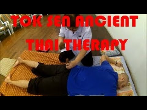 Full Body Tok Sen Ancient Thai Therapy at Wualai Hatthavach With Georgios Georgoulis
