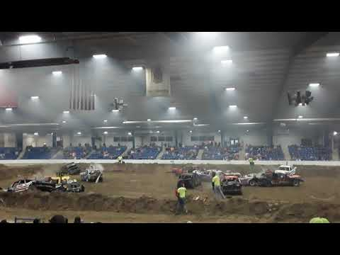 A Mad Dog Demolition Derby At Calsonic Arena In Shelbyville Tennessee