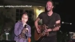 Gambar cover Coldplay Concert Features Chris Martin, Gwyneth Paltrow's Kids