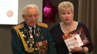 Герой Советского Союза Д.А.Бакуров провел Урок Мужества в школе №121