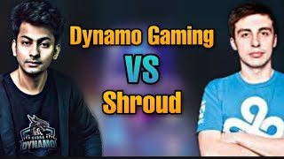 Dynamo Gaming VS Shroud | who is the best pubg / pubg mobile player?