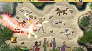 Luxor Amun Rising HD Stage 1 Complete Gameplay