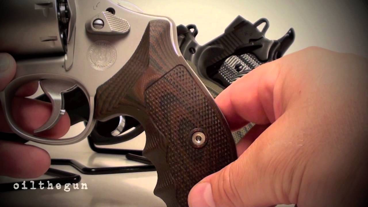 VZ GRiPS - Smith & Wesson N frame and CZ 75 - YouTube