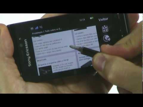 Sony Ericsson Satio - Produtopia