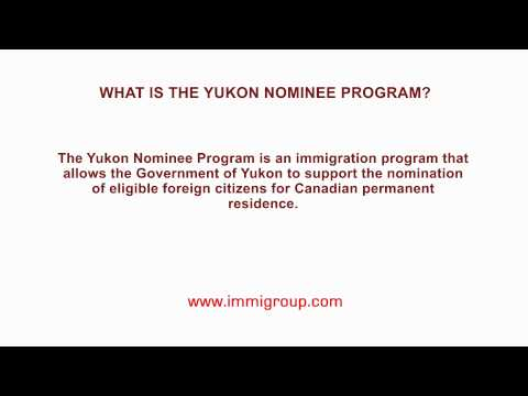 What is the Yukon Nominee Program?