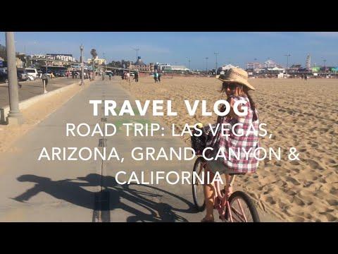 USA ROAD TRIP VLOG: VEGAS, GRAND CANYON, ARIZONA, CALIFORNIA