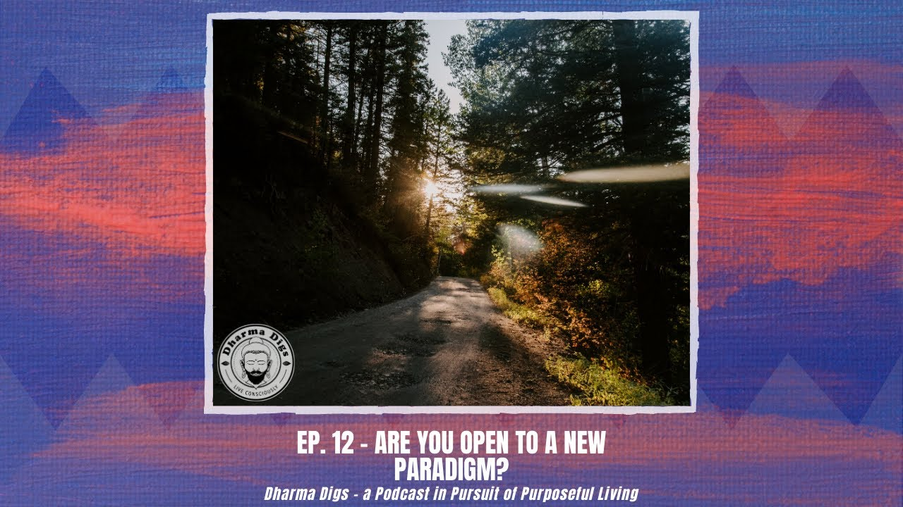Ep. 12 - Are You Open to a New Paradigm? - Dharma Digs Podcast (solo dig)