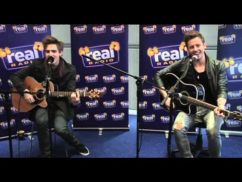 McFly - All About You LIVE (Real Radio Band in the Boardroom)