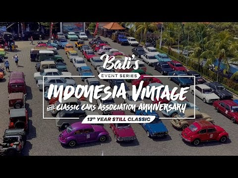INDONESIA VINTAGE & CLASSIC CARS ASSOCIATION 13th ANNIVERSAR