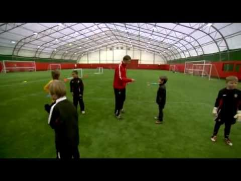 Soccer Coaching Dribbling Drill: FUNdamentals Warm Up