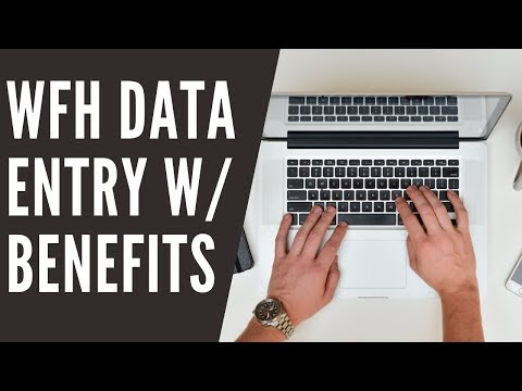 New Data Entry Online Job with Benefits Hiring RIGHT NOW
