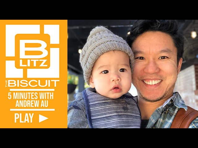 Biscuit Blitz: 5 Minutes with Andrew Au